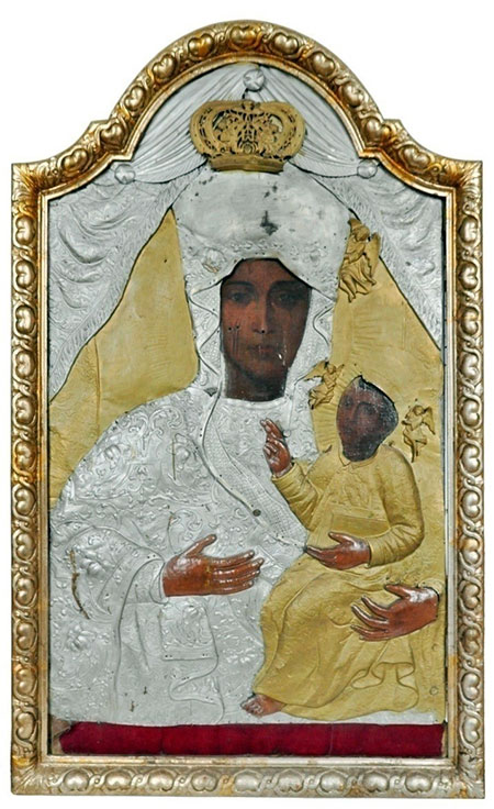Копія Чудотворної ікони Белзької Богородиці повертається в Устя Зелене