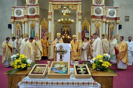 Храмовий празник в Катедральному соборі