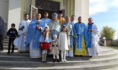 Світлий Празник Покрови Пресвятої Богородиці в Гусятині