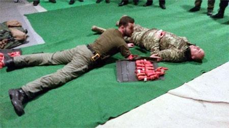В УГКЦ для священиків, які служать в зоні бойових дій, провели заняття з тактичної медицини